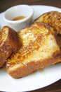 Banana Nut French Toast with Lavender Honey Butter